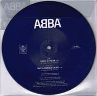 ABBA I Have A Dream Vinyl Record 7 Inch Polar 2019 Picture Disc